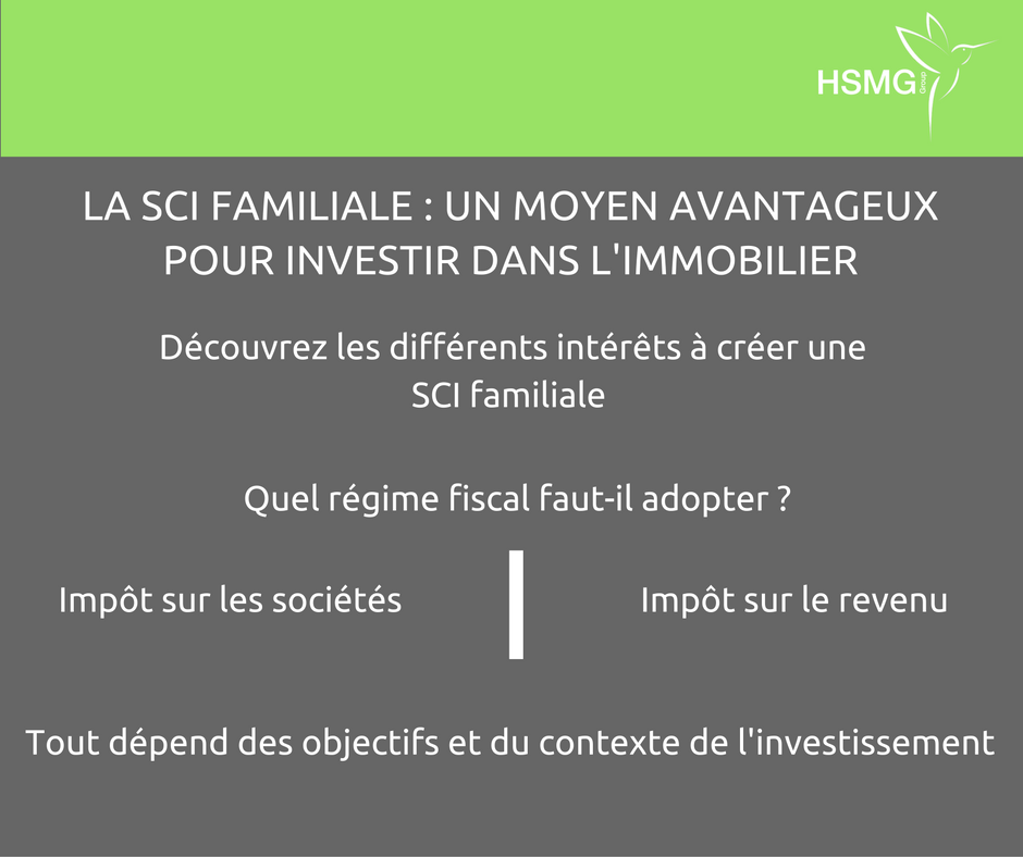 investir immobilier sci